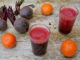 Beetroot Juice with Orange and Ginger – a Beetiful Purple Zinger