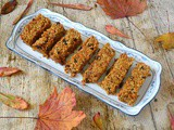 Carrot Cake Flapjacks – Autumn in a Bliss Filled Bite