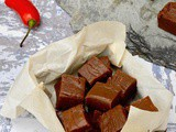 Chilli Chocolate Fudge: Smooth, Creamy & a Little Bit Hot