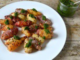 Chilli Roasted Oca with Hedgerow Pesto – Two Recipes for the Price of One