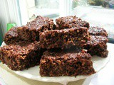 Chocolate and Coconut Flapjacks
