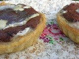 Chocolate and Goats Cheese Tarts - Random Recipes #27