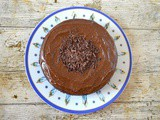Chocolate Banashew aka Chocolate Banana Cashew Cake (vegan)