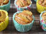 Easy Gingered Pear Almond Honey Cakes for Bonfire Night