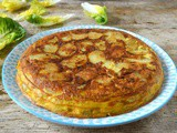 Easy Spanish Tortilla with British Gems New Potatoes