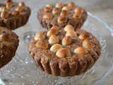 Giant Chocolate Macadamia Nut Cookies with a Luscious Filling