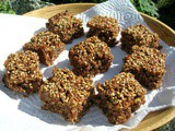 Ginger and Chocolate Flapjacks