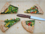 Green Vegetable Galette with Flaky Pastry