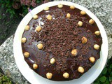 Hazelnut and Apple Chocolate Cake