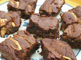 Healthier Brownies with Cashew Nut Butter - We Should Cocoa #54