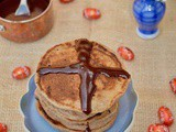 Hot Cross Bun Pancakes for Easter