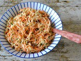 Kohlrabi Carrot Slaw – a Simple but Delicious Side