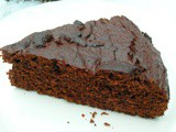 Lucuma Chocolate Cake