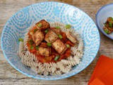 Miso Marinated Tofu with My Pasta's Last Stand – Vegan & Gluten Free