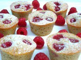 Raspberry Rose Friands – Your Summer Gluten-Free Friends