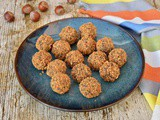 Roasted Hazelnut Bliss Balls – Sumptuous Vegan Truffles