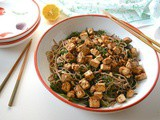 Samurai Samphire Noodles with Miso Marinated Tofu