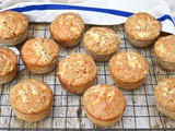 Savoury Cheese Muffins with Apple