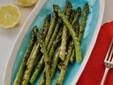 Simple Griddled Asparagus with Zingy Lemon