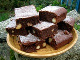Snow-Flecked Macadamia Brownies: Sweet & Simple Bakes
