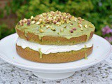 Spinach Cake with Lemon – My Super Simple Version of Le Gâteau Vert