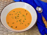 Squash and Red Pepper Soup – Thick, Velvety & Warming