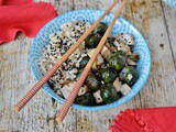 Teriyaki Rice Bowl Recipe with Tofu & Brussels Sprouts