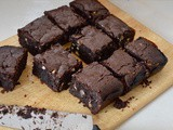 Triple Chocolate Almond Brownies – Naturally Gluten Free