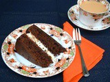 Triple Chocolate Cake – a Voluptuous Valentine Special