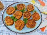 Vegetable Fritters from Leftover Cooked Vegetables