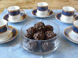 Whisky Truffles with Dark Chocolate and Fresh Cream