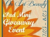"Search and Buy ""On In Beauty"" iPad Mini #giveaway"
