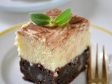 Brownie Marble Cheesecake