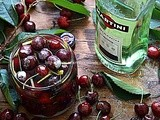 Ciliegie al vermouth bianco – Cherries in dry vermouth