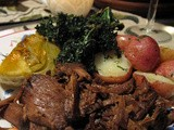 A photo - chuck roast with fennel and kale