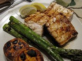 Grilled Amber jack in this pic