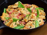 Chicken Scaloppine with Lemon & Herbs