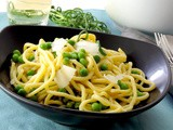 Tonnarelli Pasta with Peas