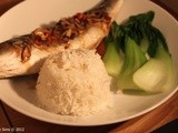 Roasted Sea Bass in Hot, Sweet and Sour Sauce