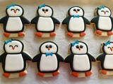 Penguin Cookies And Valentine Day Treats