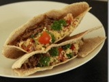 Lamb and Tabouleh Pita Pockets