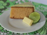 Lemon and Lime White Chocolate Mud Cake