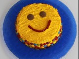 Smiley Face Cake (Chocolate Cake Recipe)