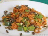 Sweet Potato and Capsicum Hash