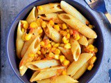 Butter Corn Pasta Recipe | Creamy Corn Pasta Recipe