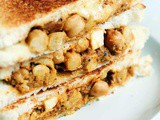Chana masala sandwich recipe | How to make chana masala sandwich