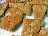 Cherry preserve short bread cookies