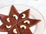 Chocolate kaju katli recipe | Diwali 2017 recipes