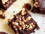 Cocoa brownies recipe | eggless and whole wheat flour cocoa brownies recipe