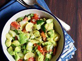 Easy Avocado Salad Recipe | How To Make Avocado Salad Easily